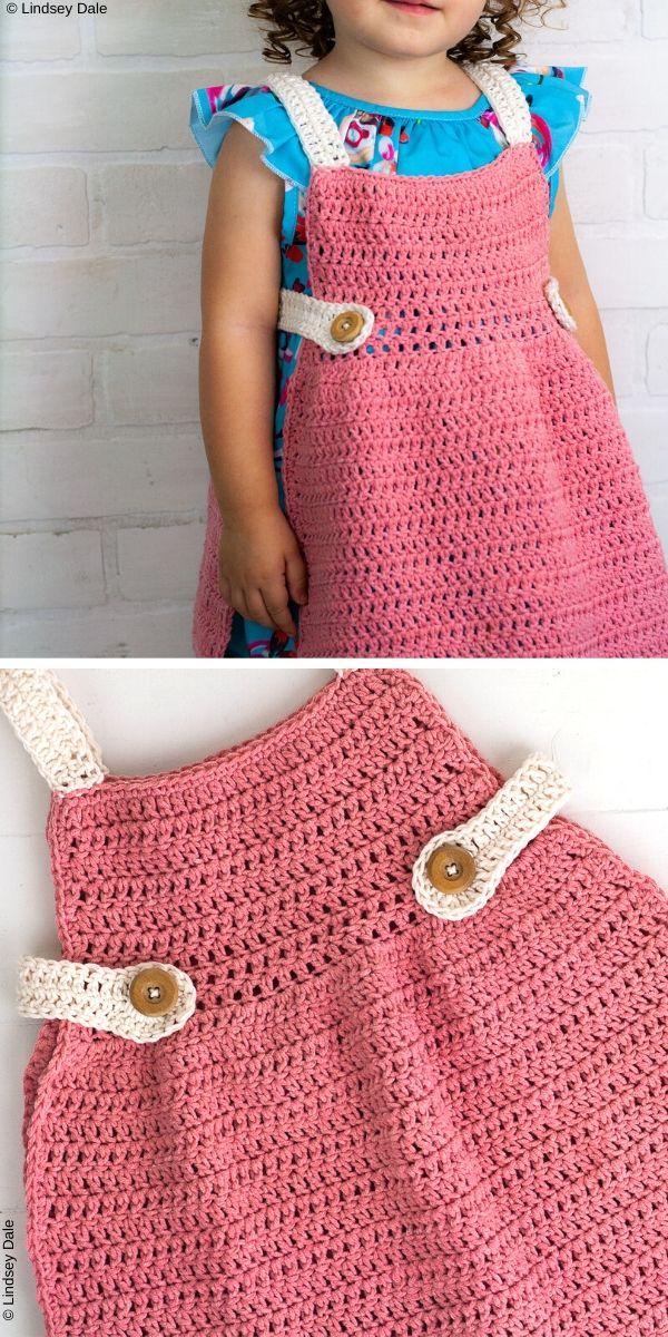 Beginner Vintage Apron Free Crochet Pattern