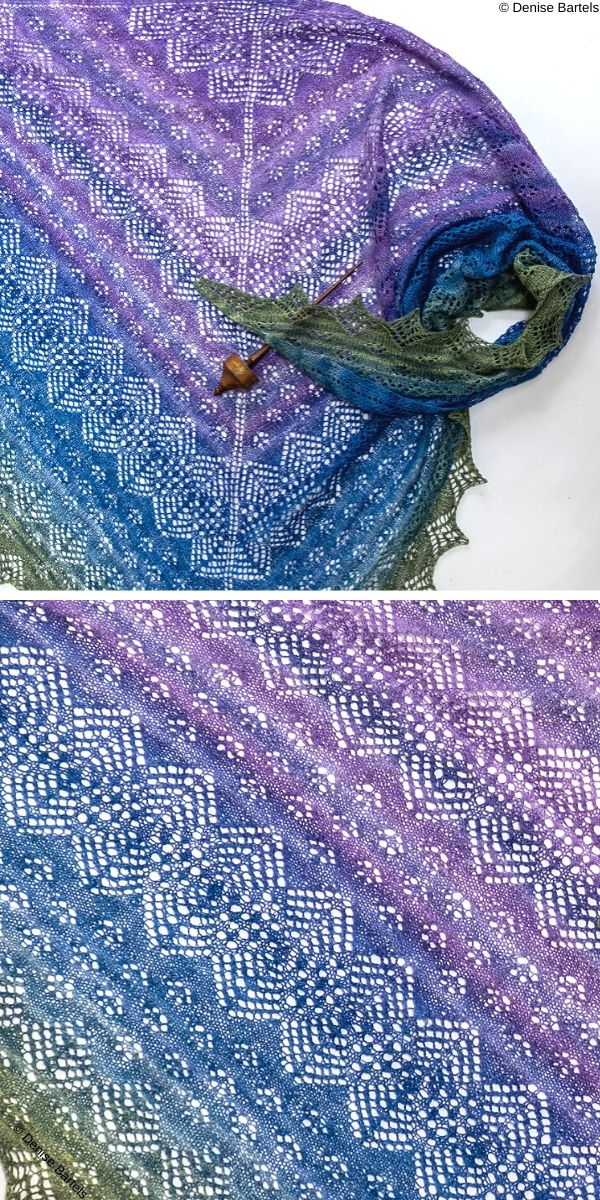 Bettina's Garden Free Knit Pattern