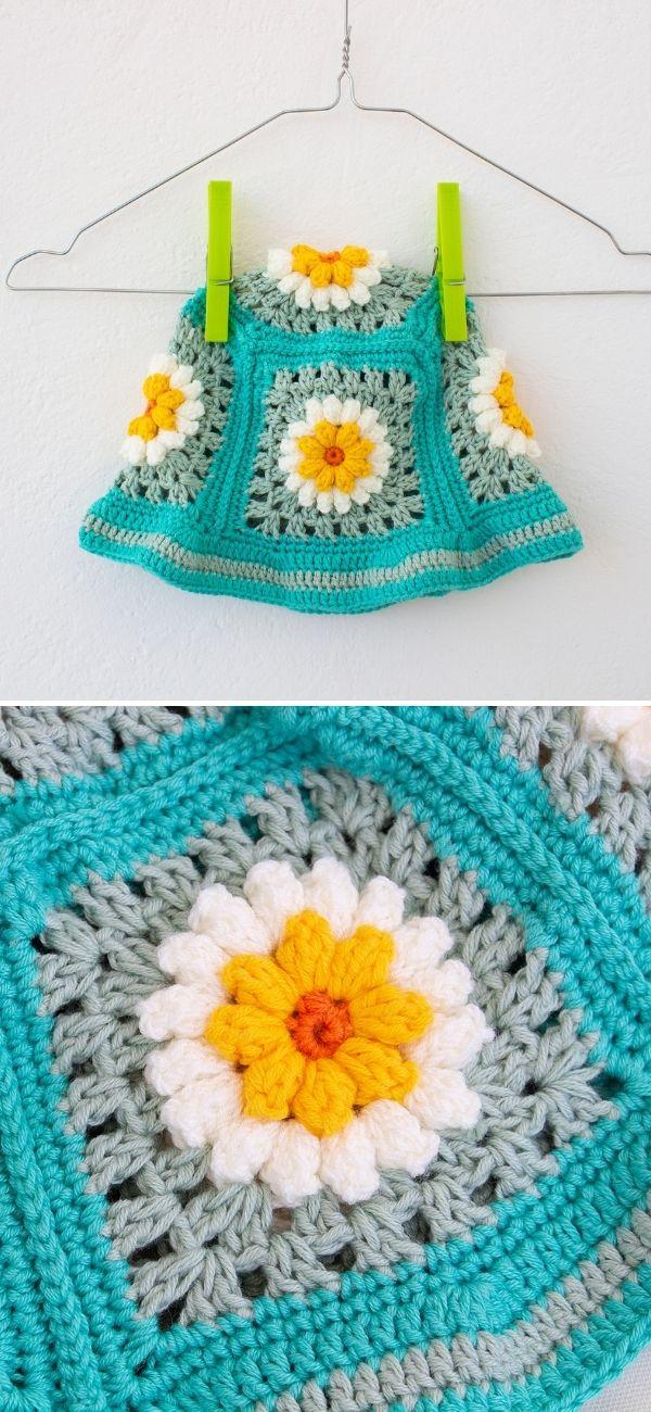 Daisy Flower Bucket Hat