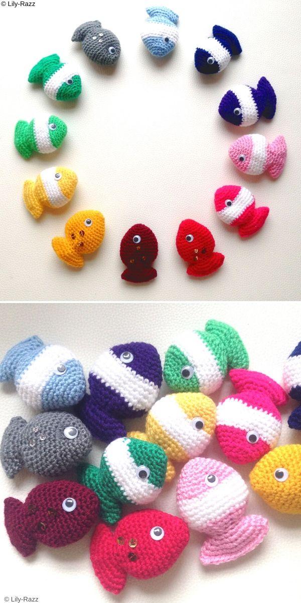 Fish Candy Free Crochet Pattern
