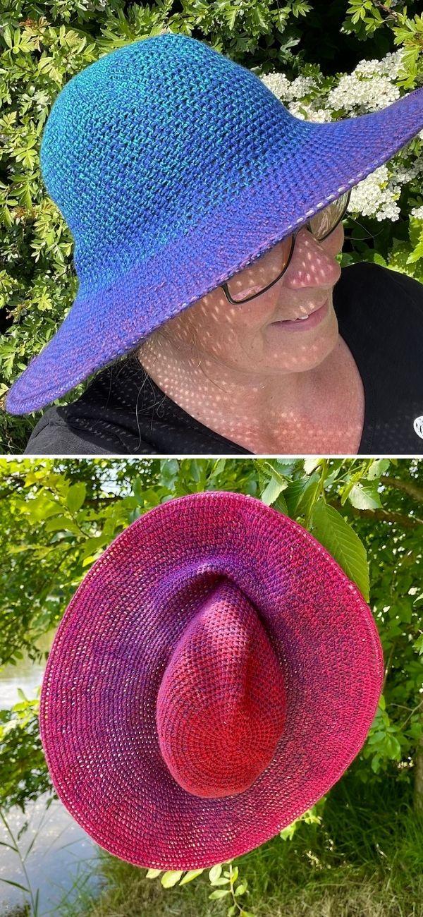 Gradient Sun Hat