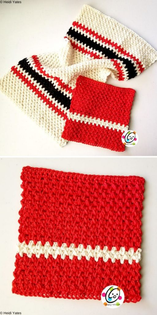 Grill Master Towel Set Free Crochet Pattern