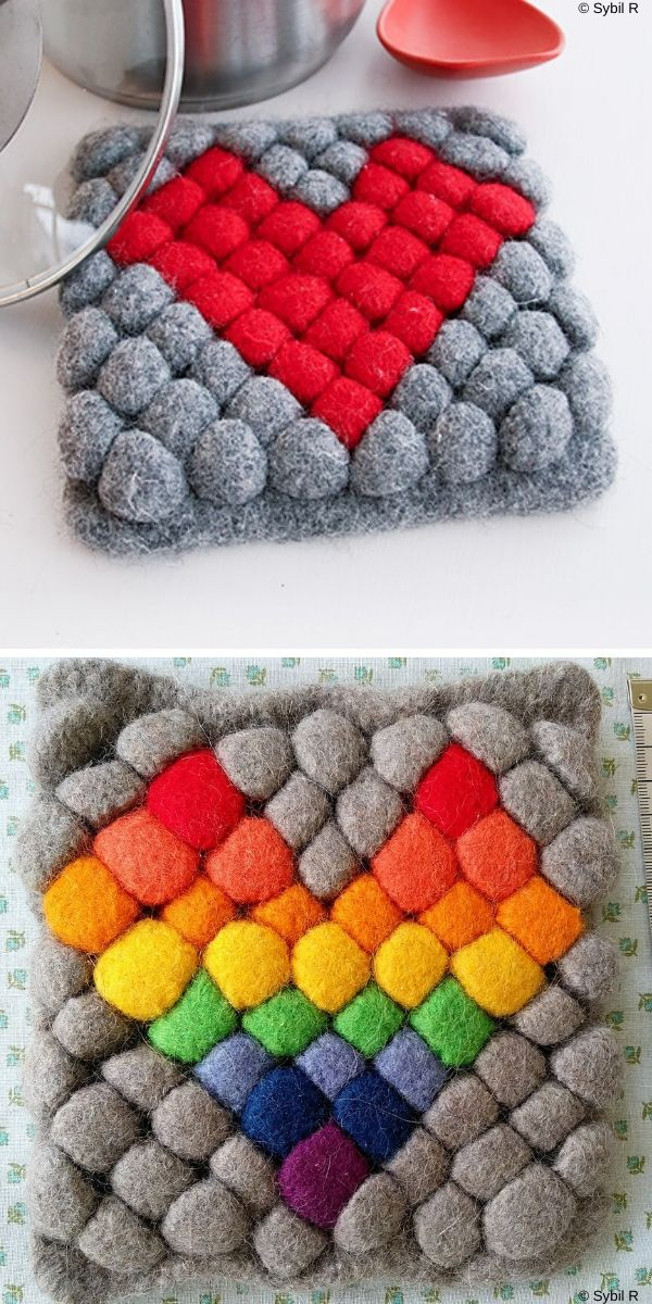 Hot Heart Free Knitting Pattern