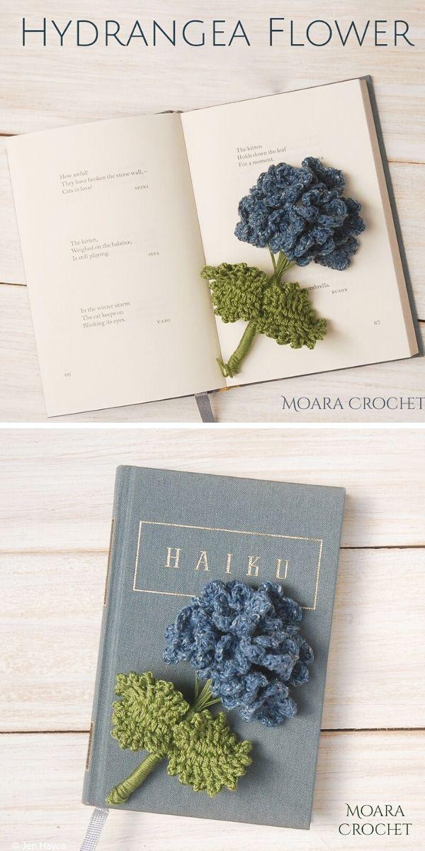 Hydrangea Flower Free Crochet Pattern