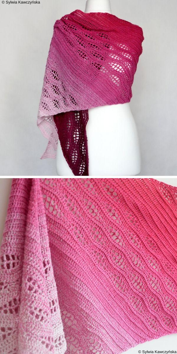 Kalinda WrapFree Crochet Pattern