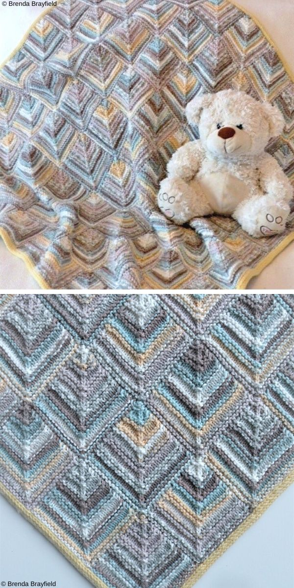 Magic Tiles Free Knit Pattern