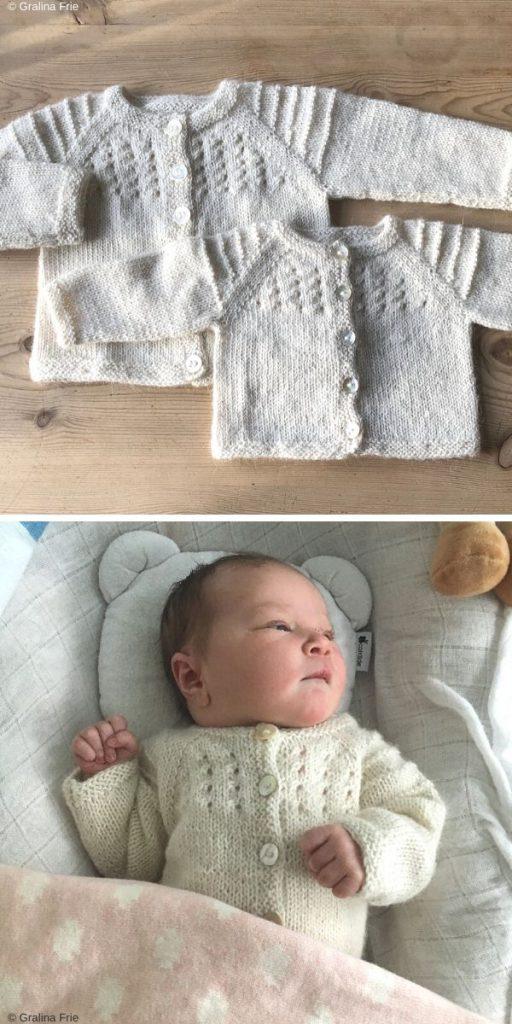 Mjuk Cardigan Free Knitting Pattern