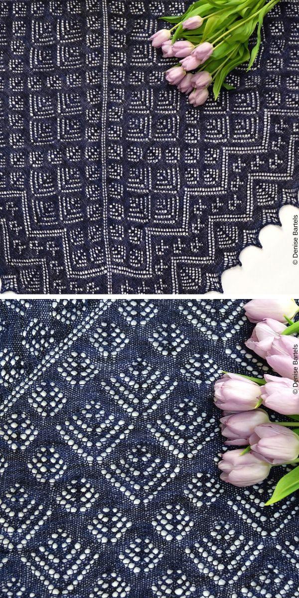 Raven's Eye ViewFree Knit Pattern