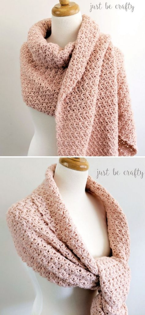 Shimmer Crochet Wrap