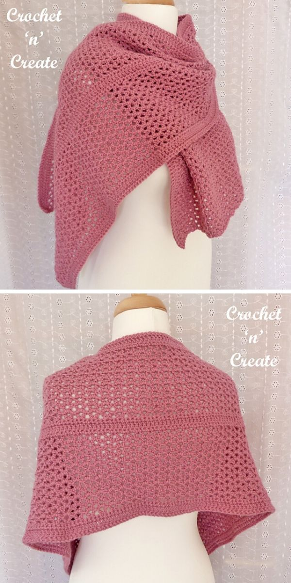 Simple Wrap Free Crochet Pattern