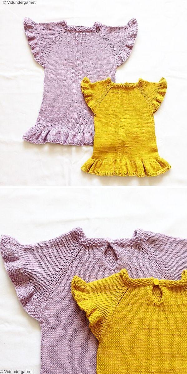 Sommerkjolen Free Knitting Pattern