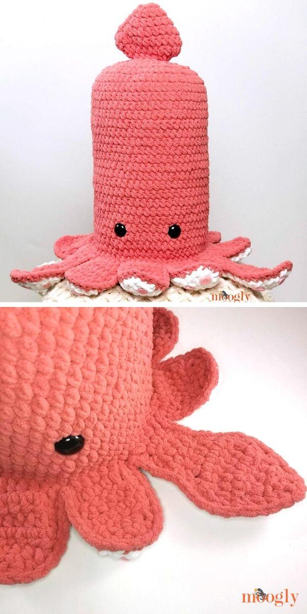Squid Squish Free Crochet Pattern