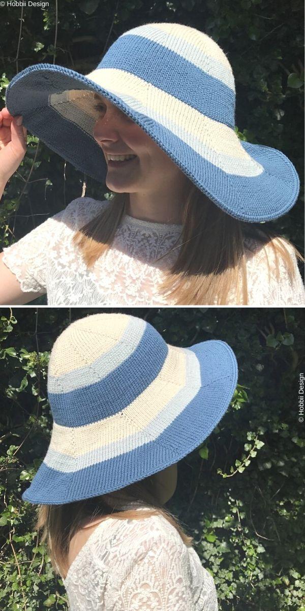 Summer HatFree Crochet Pattern