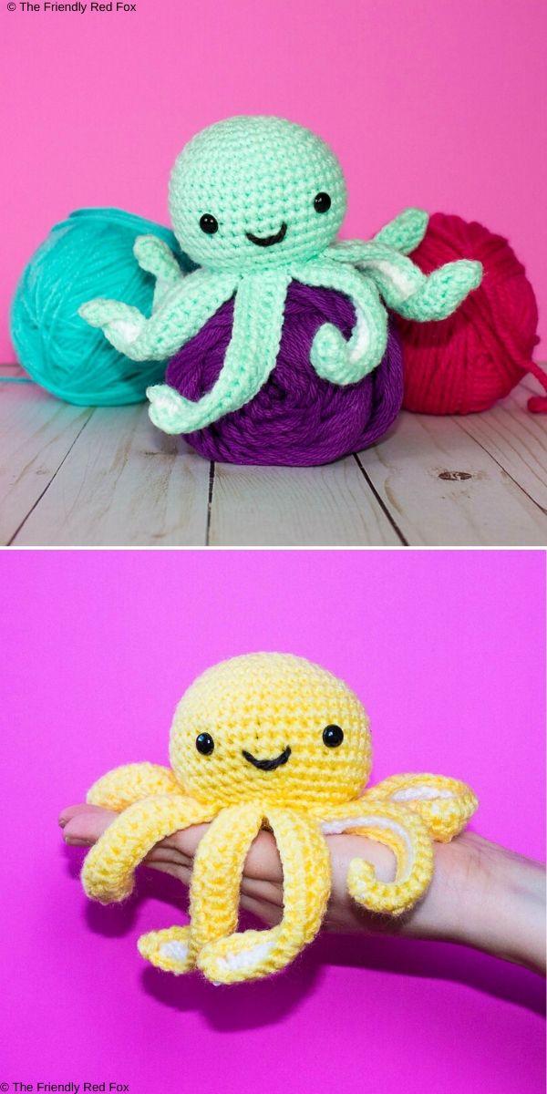 The Friendly Mini Octopus Free Crochet Pattern