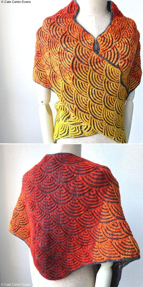 Uroko Free Knitting Pattern