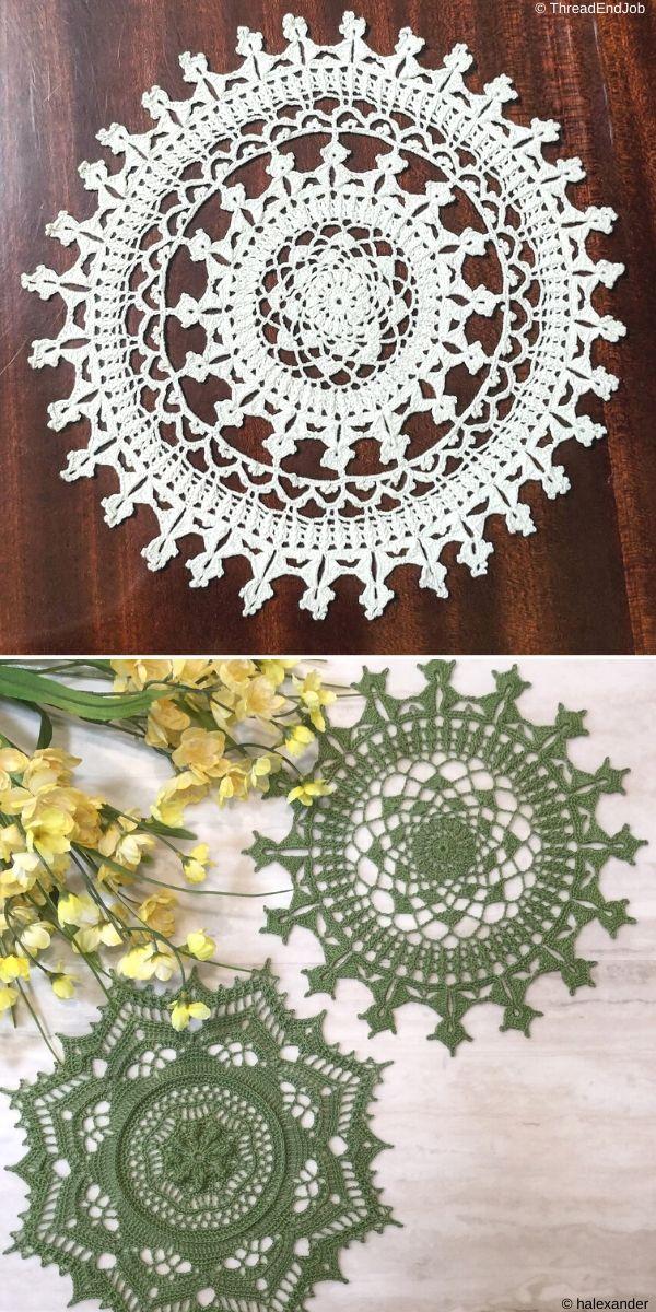 Affinity Doily Free Crochet Pattern