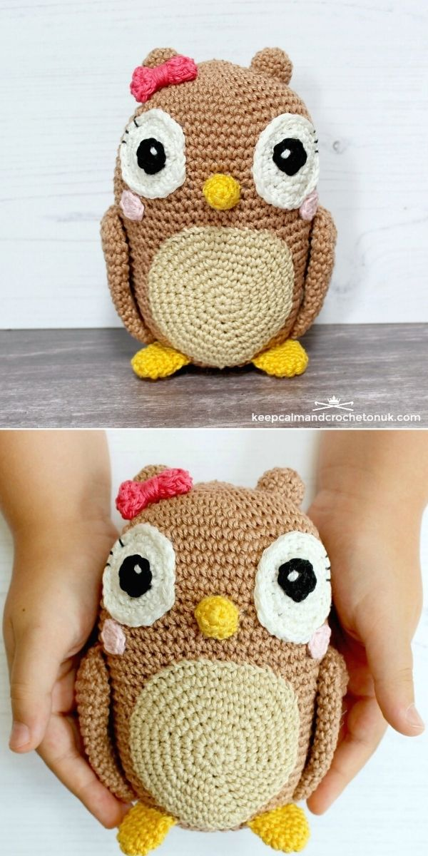 Anchor Amigurumi Owl
