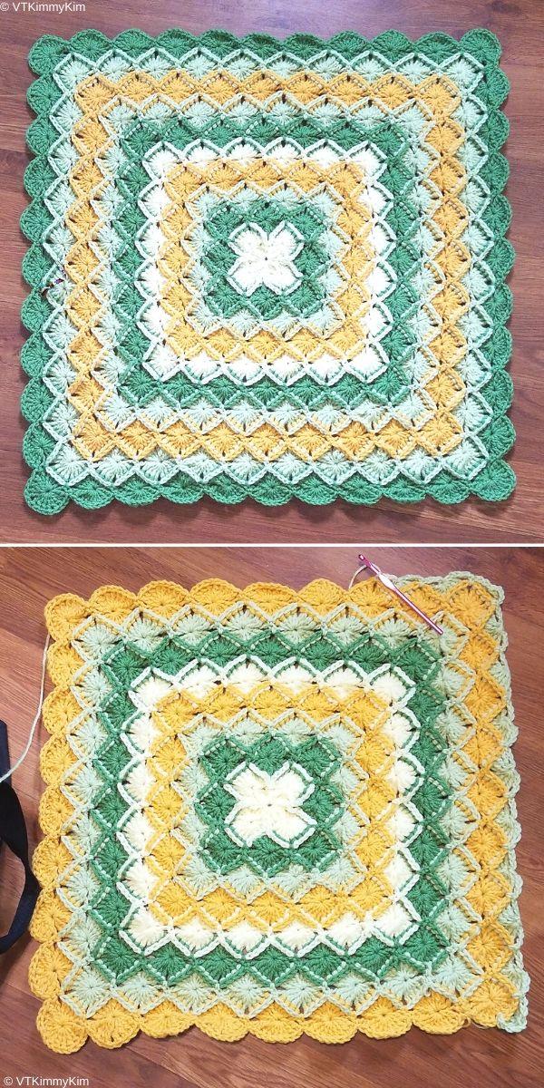 Bavarian Baby Blanket Free Crochet Pattern