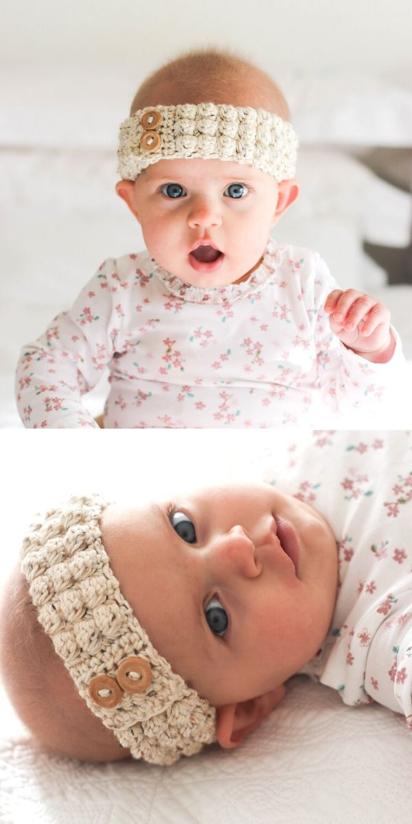 Bobble baby headband