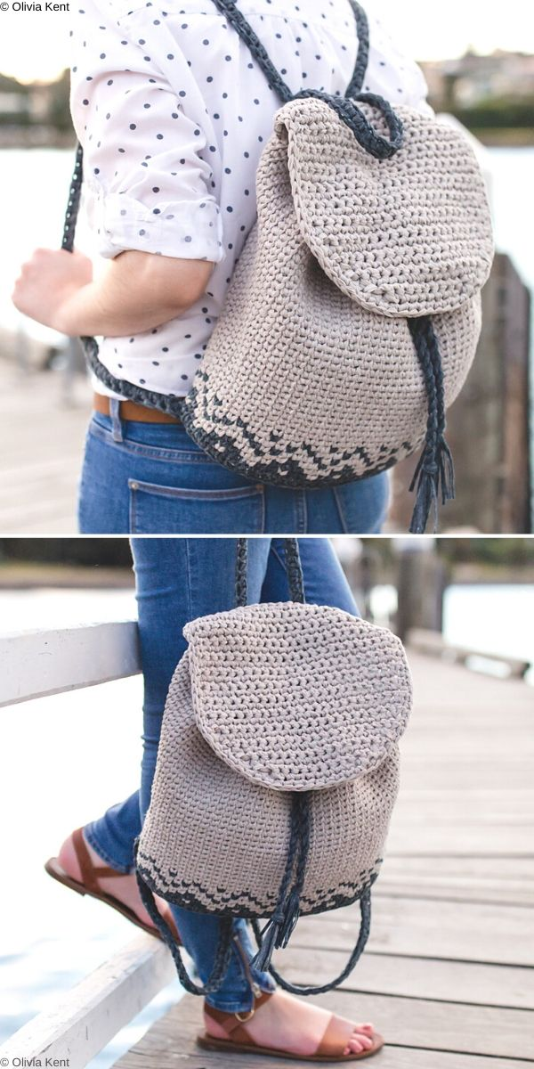 Florence Backpack Free Crochet Pattern