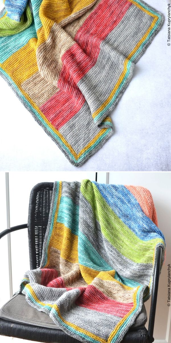 Forest Spirit Baby Blanket Free Knitting Pattern