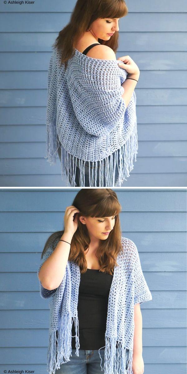 Lana Kimono Free Crochet Pattern
