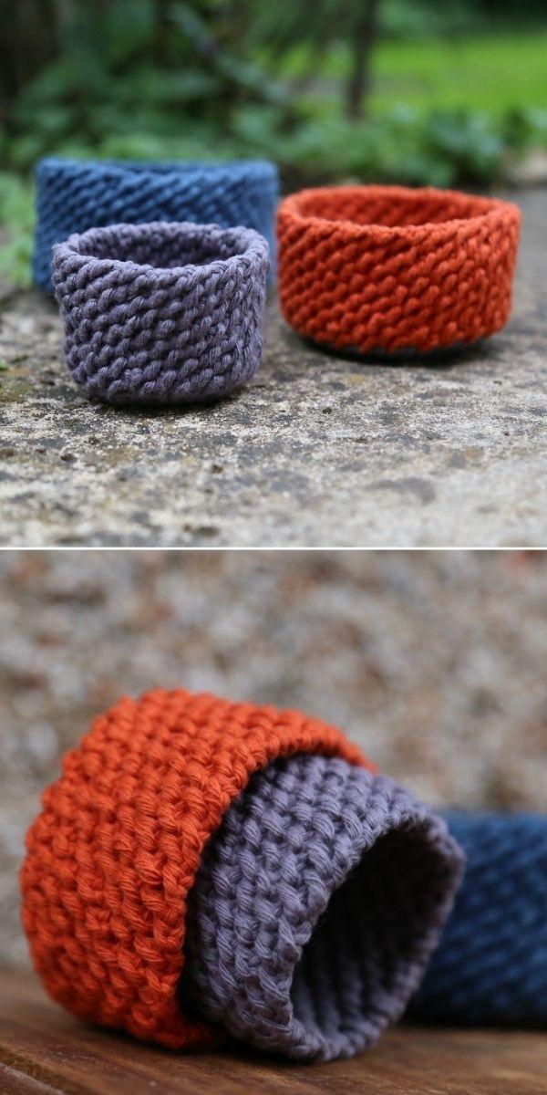 Lobster Tail Crochet Basket