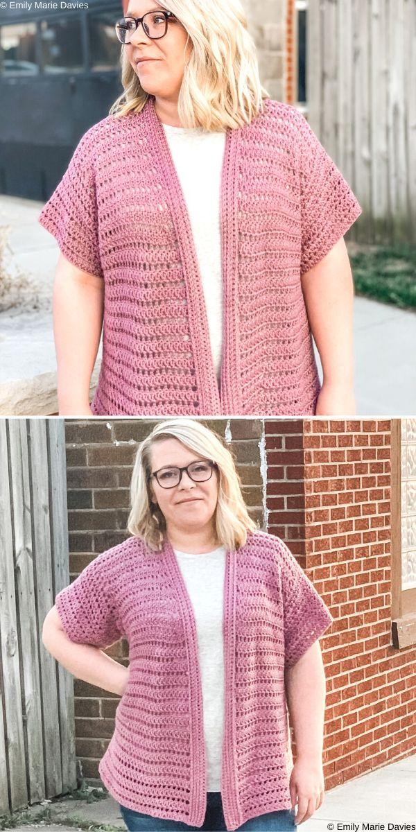 Mandy CardigansFree Crochet Pattern