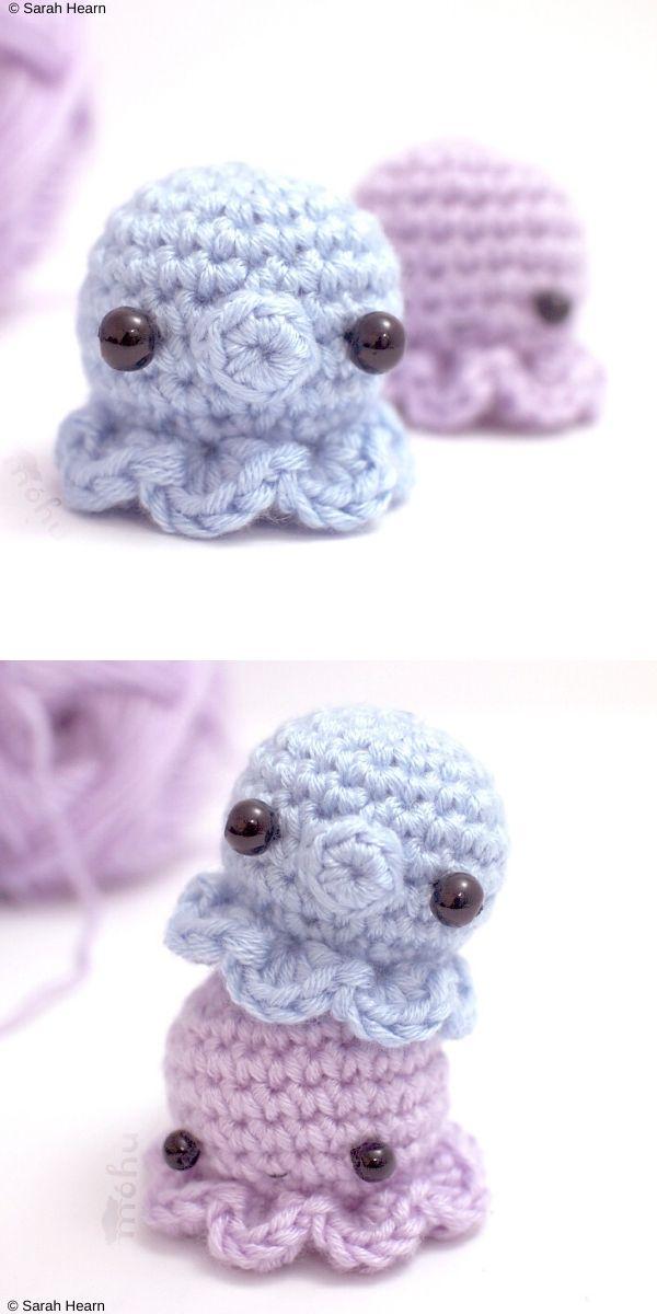 Micro Whale Free Crochet Pattern