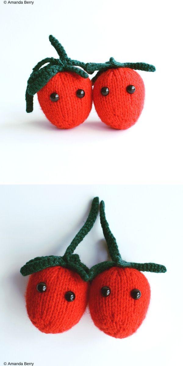 Plum Tomatoes Free Crochet Pattern