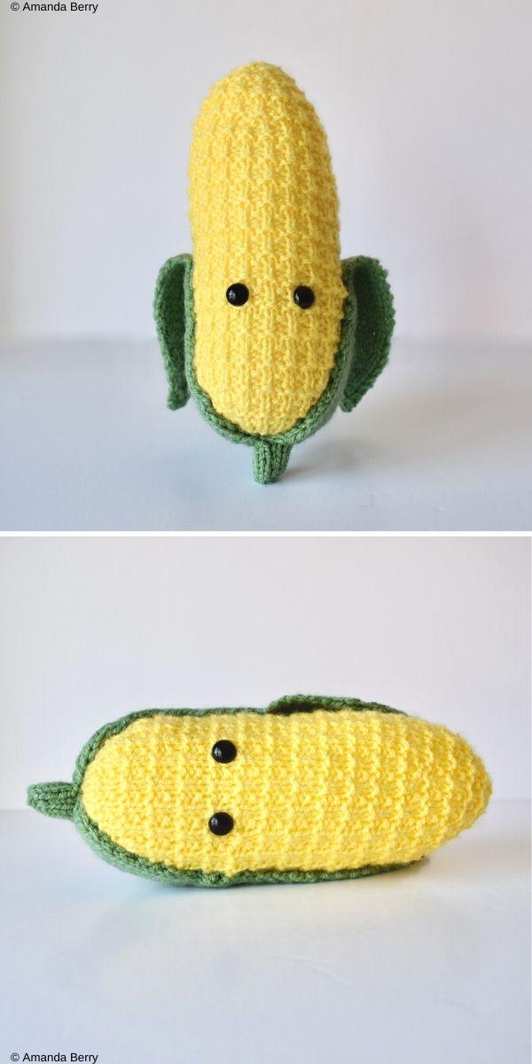 Sweetcorn Free Crochet Pattern