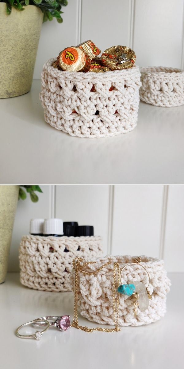 Waterfront Trinket Basket