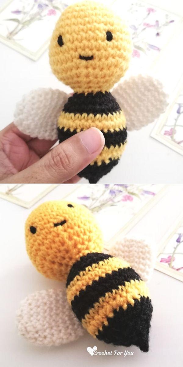 Little Bumble Bee Amigurumi