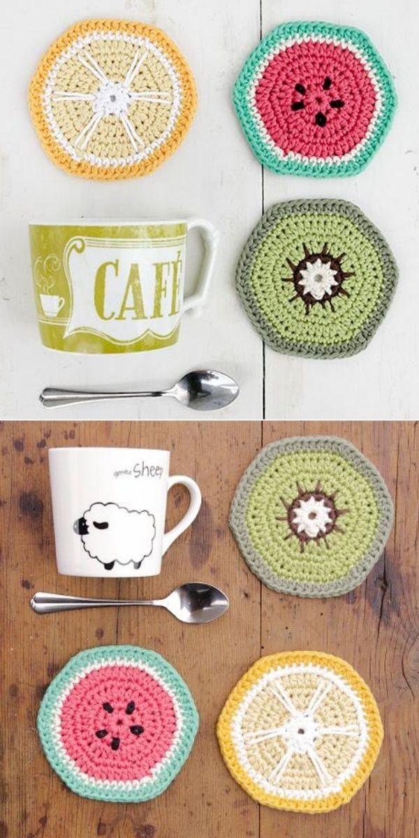 Breakfast Slices lemon, watermelon and kiwi home accessories