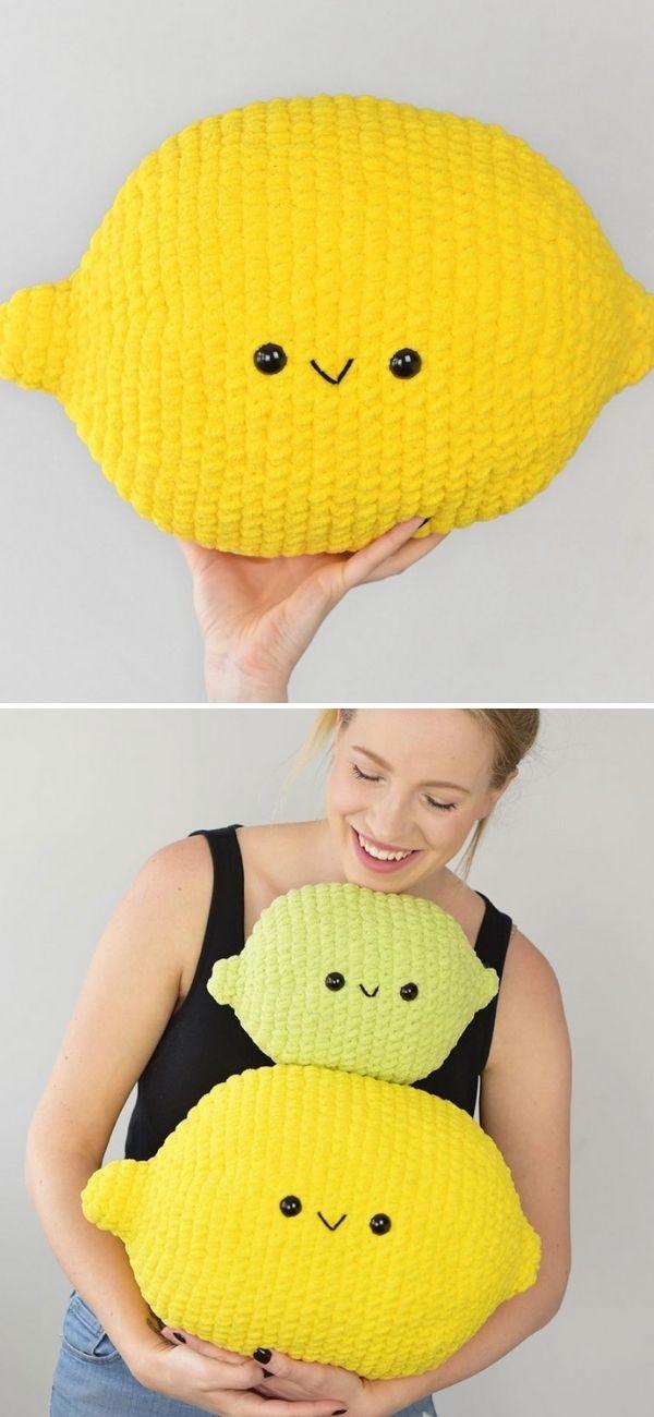 Lemon Cuddler Crochet Pattern