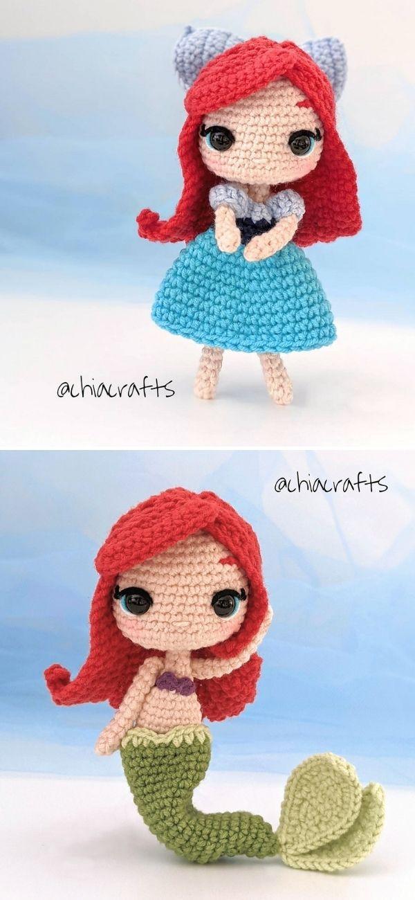 Little Mermaid Amigurumi
