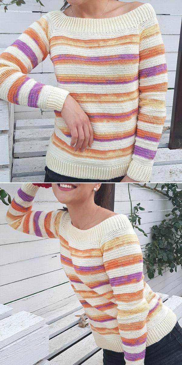 Sweater simple and elegant