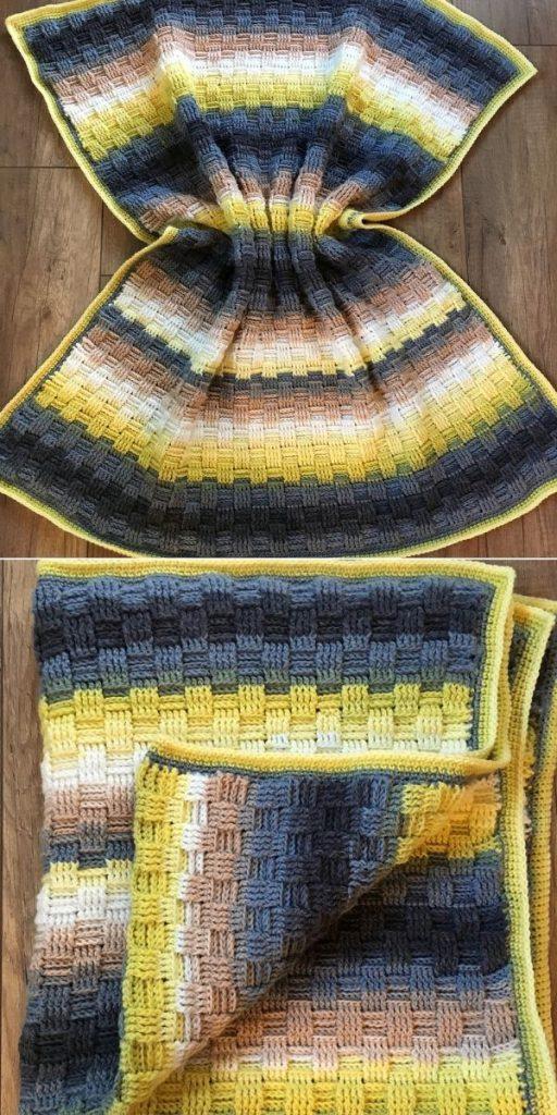 Basketweave Blanket