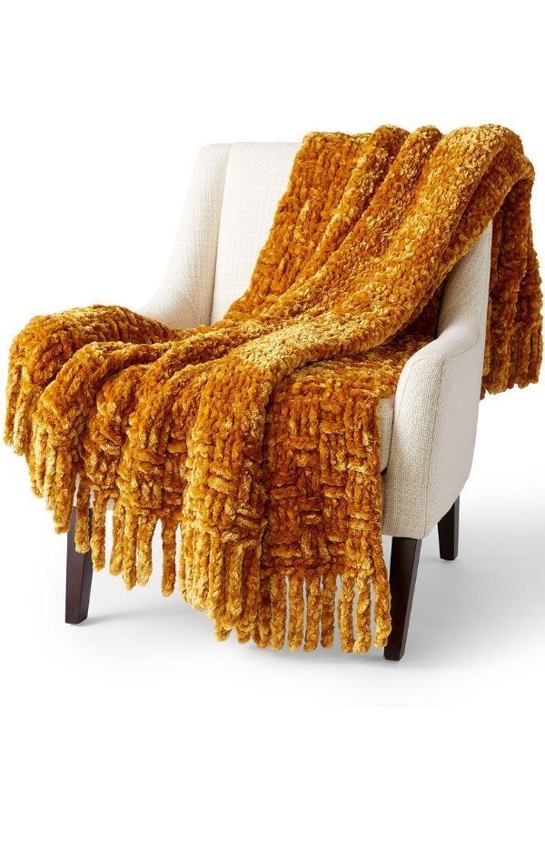 Big Basketweave Blanket