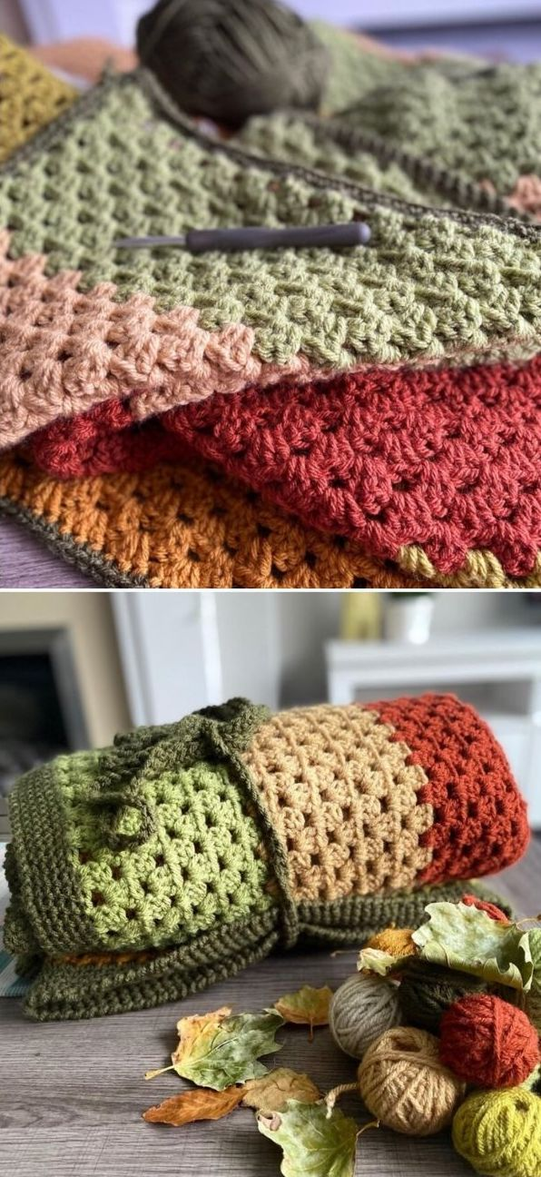 Fallen Leaves Blanket