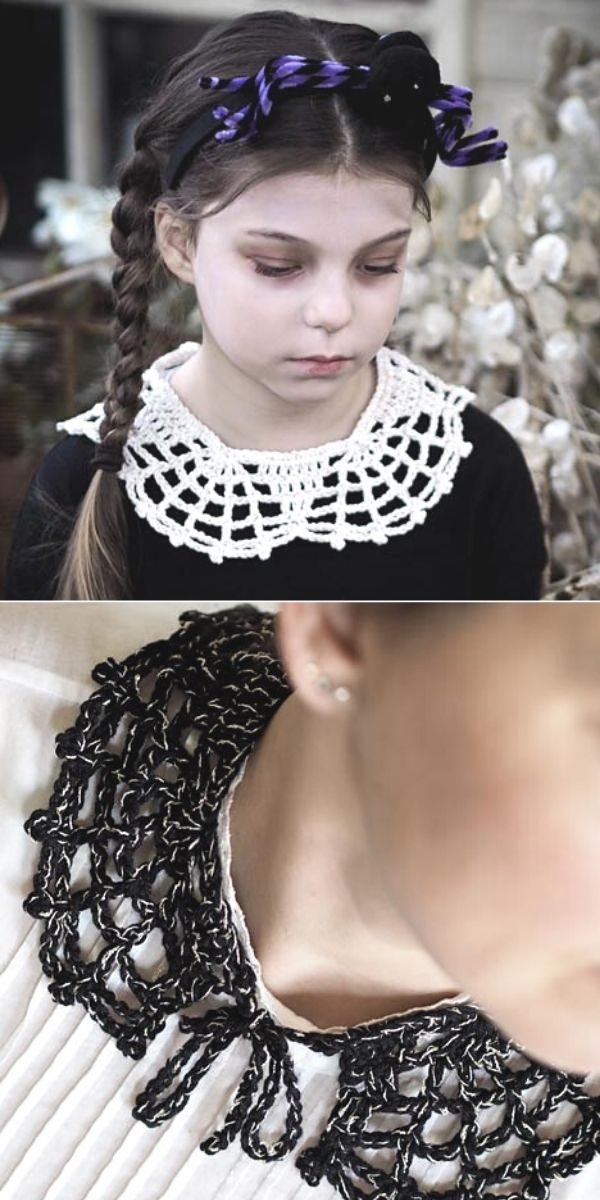 Halloween Web Collar