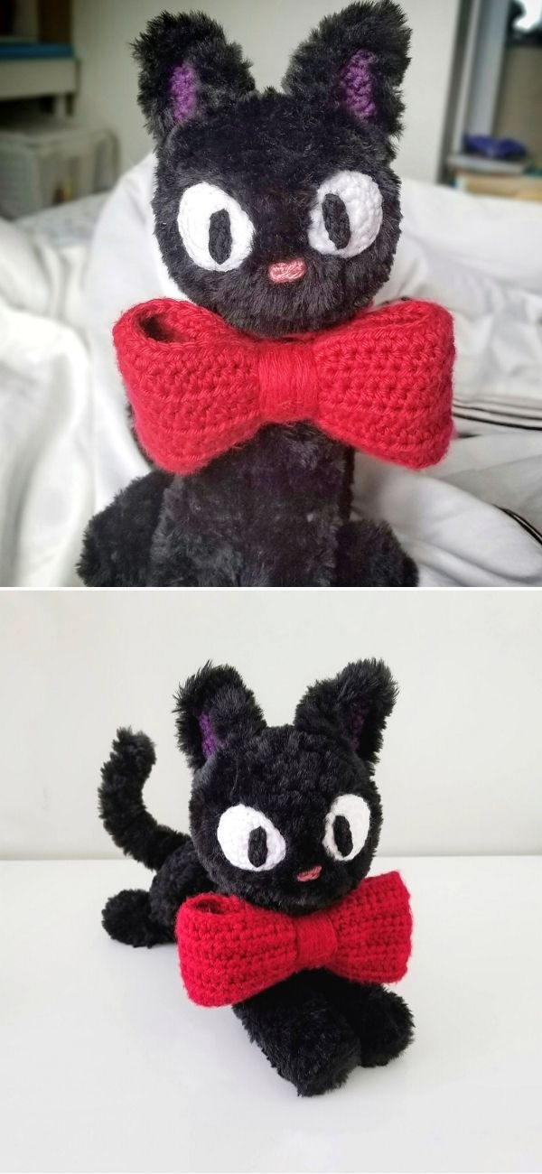 Jiji the Black Cat Amigurumi