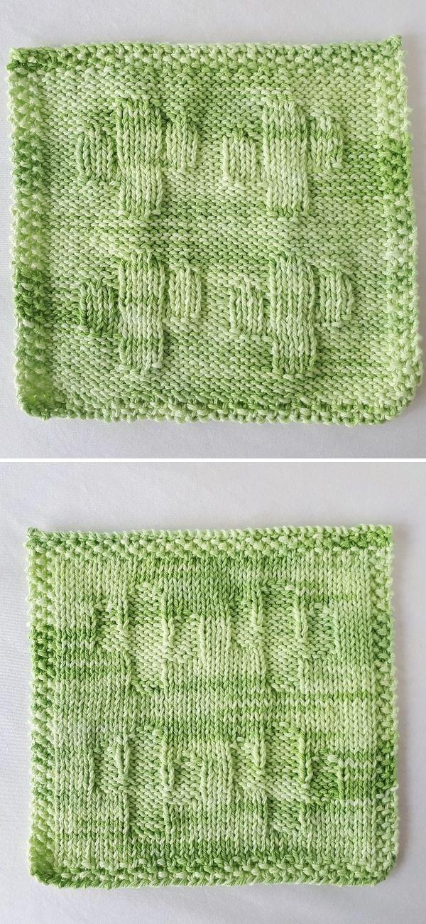 Little Cactus Washcloth 1