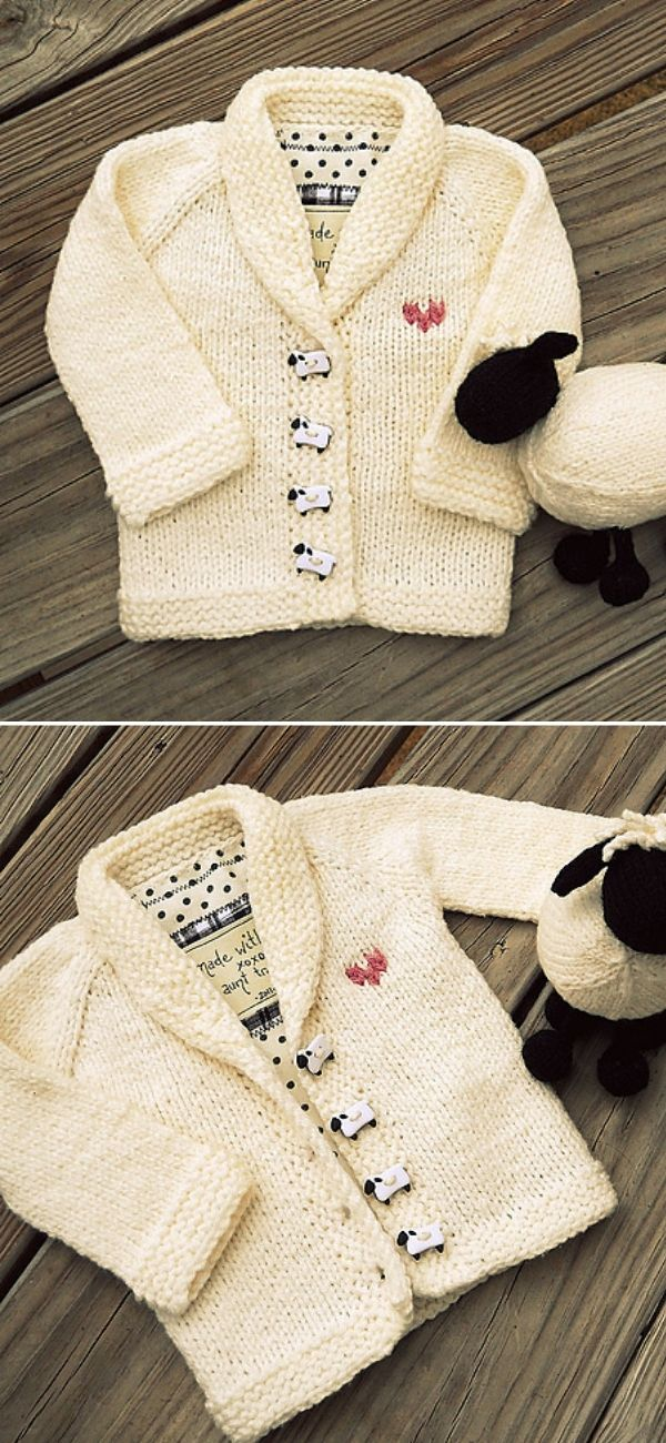 Sheepie shawl collar