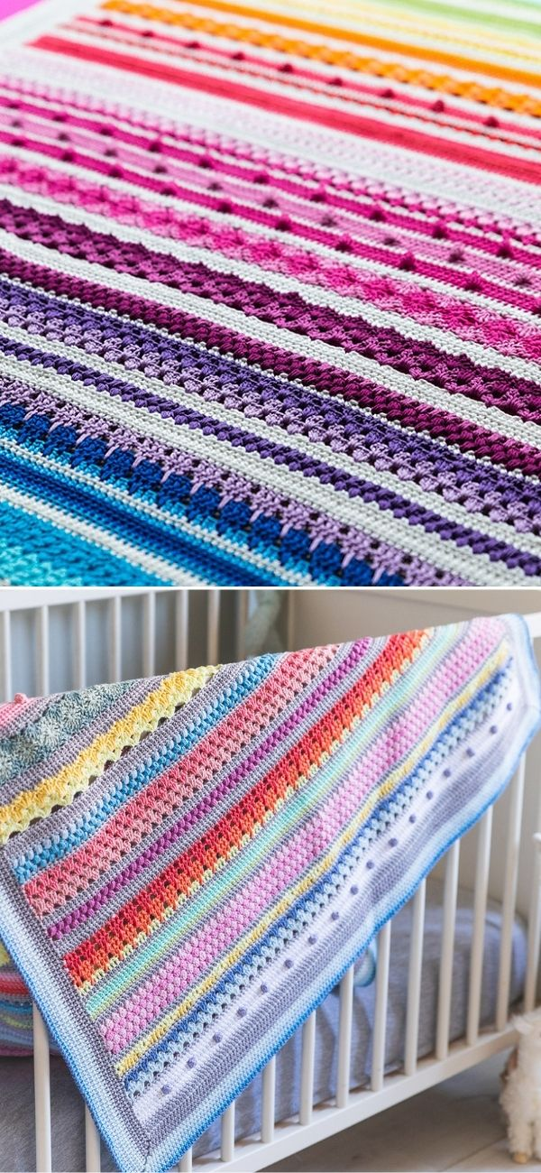 Crochet Blankets For Babies Free Patterns