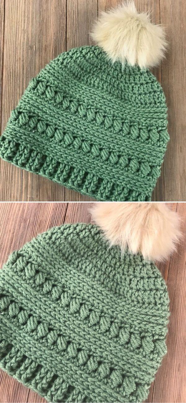Bead Stitch Hat