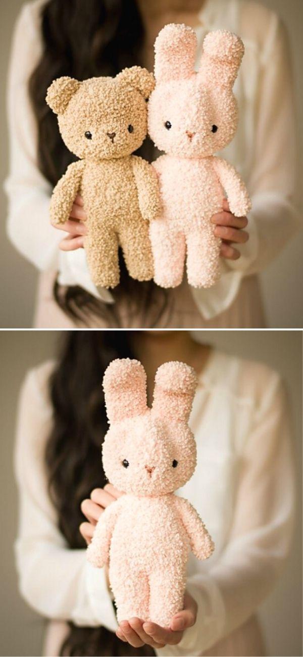 Boucle Bear and Bunny