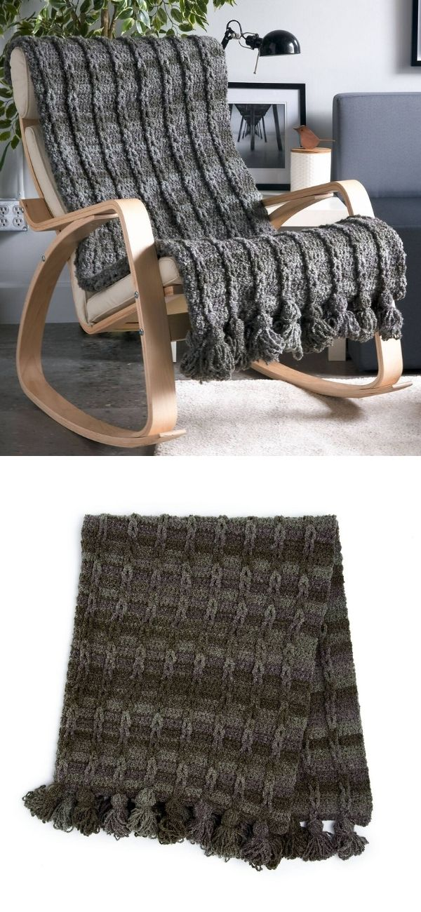 Braided Loops Blanket
