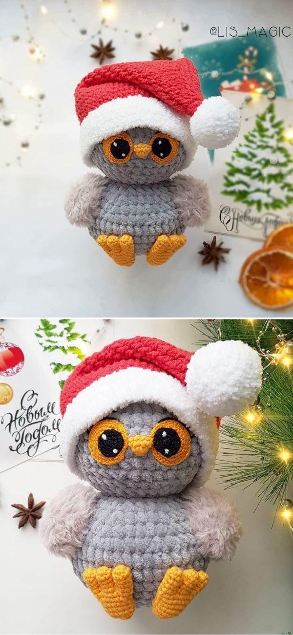Christmas owl free