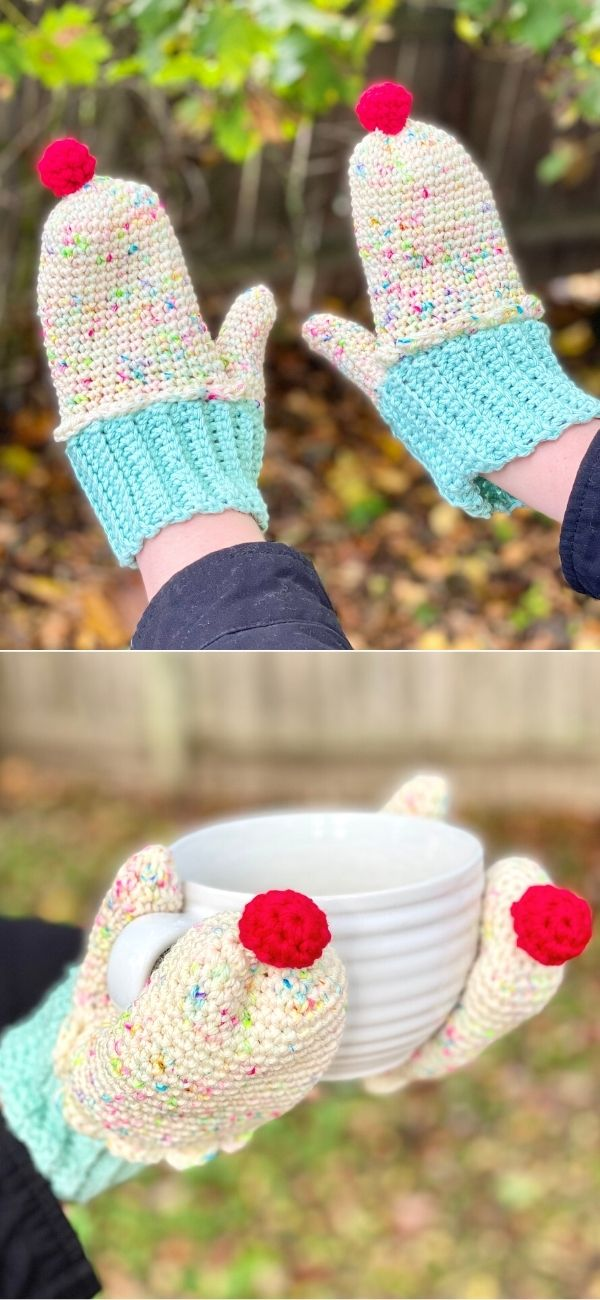 Cozy Cupcake Mittens